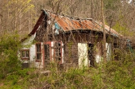 old abandoned house in Cullasaja